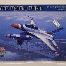 Maquetas: HOBBY BOSS- AVIÓN F-16D FIGHTING FALCON CON LA REFERENCIA 80245, ESCALA 1/72. Lote 288565878
