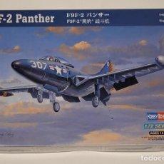 Maquetas: HOBBY BOSS- AVIÓN F9F-2 PANTHER CON LA REFERENCIA 87248, ESCALA 1/72. Lote 288566008
