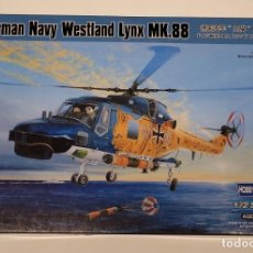 Maquetas: HOBBY BOSS- HELICÓPTERO GERMAN NAVY WESTLAND LYNX MK.88 CON LA REFERENCIA 87239, ESCALA 1/72. Lote 288566173