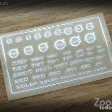 Maquetas: ZOON ON - VOLVO LOGO METAL STICKER 1/24 ZD016. Lote 288583498