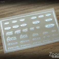 Maquetas: ZOON ON - FORD LOGO METAL STICKER 1/24 ZD021. Lote 288583658