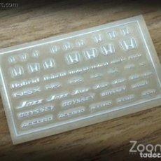 Maquetas: ZOON ON - HONDA A LOGO METAL STICKER 1/24 ZD030. Lote 288584088