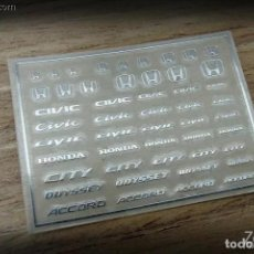 Maquetas: ZOON ON - HONDA B LOGO METAL STICKER 1/24 ZD031. Lote 288584103
