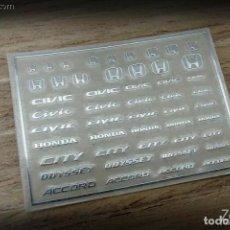 Maquetas: ZOON ON - HONDA B LOGO METAL STICKER 1/24 ZD031. Lote 288584108
