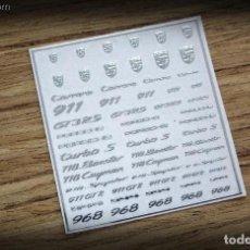 Maquetas: ZOON ON - PORSCHE LOGO METAL STICKER 1/24 ZD032. Lote 288584153