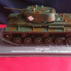Maquetas: TANQUE KV-I MOD 1942 BRIGADE CAUCAUS USSR SEPTEMBRE SEPTEMBRE 1942. Lote 288665028