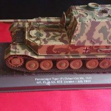 Maquetas: TANQUE TIGER ELEFANT UKRAINE JULY 1944. Lote 288667598