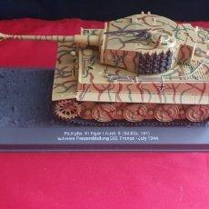 Maquetas: TANQUE TIGER 181 - FRANCE JULY 1944. Lote 288668443