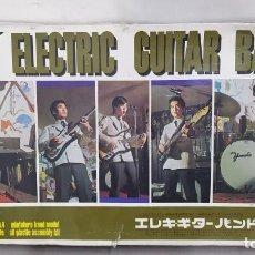 Maquetas: ELECTRIC GUITAR BAND DE NICHIMO 1/8 AÑO 1967 CON CALCAS DE LOS BEATLES. NUEVO. RARISIMO. Lote 289867213
