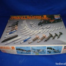 Maquetas: HASEGAWA - MAQUETA AIRCRAFT WEAPONS : B U.S. GUIDED BOMBS & ROCKET LAUNCHERS ,ESCALA 1/48, ! SM. Lote 293243598