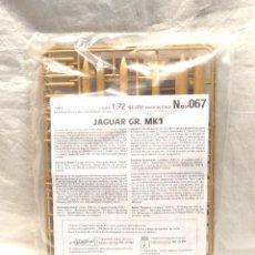 Maquetas: AVION JAGUAR GR MK1 ESC 1/72 Nº 67 DE ITALERI, NUEVO A ESTRENAR. Lote 293437863