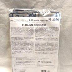 Maquetas: AVION F 4U 5N CORSAIR ESC 1/72 Nº 44 DE ITALERI, NUEVO A ESTRENAR. Lote 293438548