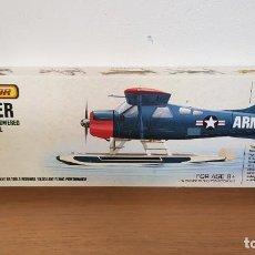 Maquetas: MAQUETA AVION DE USA ARMY MODELO BEAVER AVIATOR RUBBER POWERED MODEL AIRCRAFT. Lote 293990763