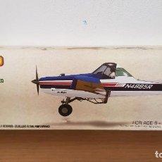 Maquetas: MAQUETA AVION O AVIONETA MODELO AG WAGON AVIATOR RUBBER POWERED MODEL AIRCRAFT. Lote 293991163