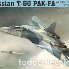 Maquetas: HOBBY BOSS - RUSSIAN T-50 PAK-FA 1/72 87257. Lote 293998903