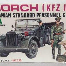 Maquetas: HORCH GERMÁN STANDARD PERSONNEL CAR. 1/35 ITALAEREI ANTERIOR A ITALERI. . NUEVO, BOLSA SIN ABRIR. Lote 294170208