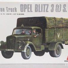 Maquetas: GERMAN TRUCK OPEL BLITZ 3 T . 1/35 ITALAEREI ANTERIOR A ITALERI. . NUEVO, BOLSA SIN ABRIR. Lote 294170683