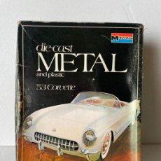 Maquetas: MAQUETA MONOGRAM COCHE METAL CORVETTE. Lote 294951928