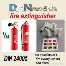 Maquetas: DAN MODELS - FIRE EXTINTOR 1/24 24005. Lote 295295533