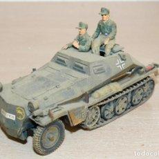 Maquetas: 35- MAQUETA VEHÍCULO GERMAN SHORT HANOMAG SDKFZ. 251 WWII 1:35 ITALERI 2ª GUERRA MUNDIAL 1/35 TAMIYA. Lote 295431478