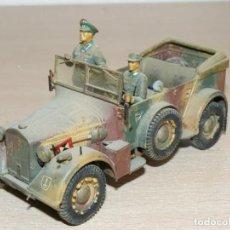 Maquetas: 36- MAQUETA VEHÍCULO GERMAN HORCH KFZ OFFICIAL CAR WWII 1:35 ITALERI 2ª GUERRA MUNDIAL 1/35 TAMIYA. Lote 295432188