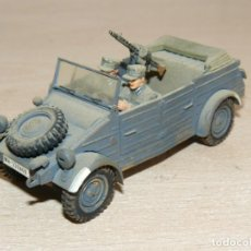 Maquetas: 39- MAQUETA VEHÍCULO GERMAN KUBELWAGEN VEHICLE CAR WWII 1:35 TAMIYA 2ª GUERRA MUNDIAL 1/35 ITALERI. Lote 295438568