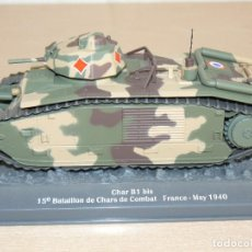 Maquetas: 65- TANQUE CHAR B1 BIS 15 BATAILLON DE CHARS DE COMBAT FRANCE - MAY 1940 WWII 1:43 TANK. Lote 295509068
