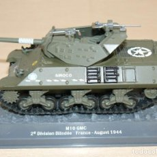 Maquetas: 66- TANQUE M10 GMC 2ª DIVISION BLINDÉE - FRANCE AUGUST 1944 WWII 1:43 US ARMY SIROCO TANK. Lote 295509618