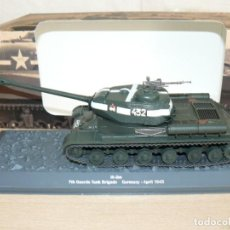 Maquetas: 72-TANQUE IS-2M 7TH GUARDS TANK BRIGADE GERMANY - APRIL 1945 WWII 1:43 2ª GUERRA MUNDIAL. Lote 295513878