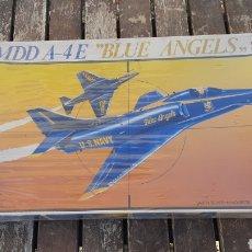 Maquetas: MDD A-4 E BLUE ANGELS ESCALA 1/48 REF-4024 DE ESCI/NUEVO. Lote 295589063