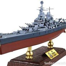 Maquetas: ACORAZADO USS MISSOURI BB-63, 1:700 SªGM. Lote 295701393