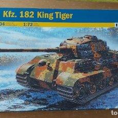 Maquetas: MAQUETA SD KFZ 182 KING TIGER ITALERI 1: 72. Lote 297023133