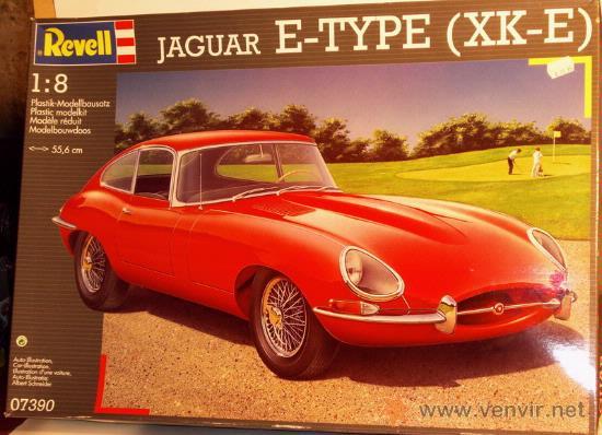 Modellbau Jaguar ~ Revell 07390 jaguar tipo e xk e 1 8 verkauft durch direktverkauf