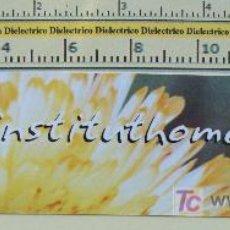 Coleccionismo Marcapáginas: MARCAPÁGINAS: INSTITUTO HOMEOPÁTICO DE CATALUÑA. . Lote 6907112