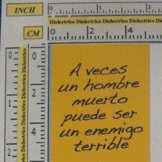Coleccionismo Marcapáginas: MARCAPÁGINAS DE LITERATURA : VIVA EL CHE GUEVARA. ANDREW SINCLAIR. PERFECTO. . Lote 7841063