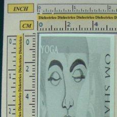 Coleccionismo Marcapáginas: MARCAPÁGINAS. YOGA. PERFECTO. . Lote 8134925