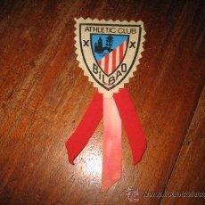 Coleccionismo Marcapáginas: MARCAPAGINAS ESCUDO ATHLETIC CLUB BILBAO. Lote 13744408