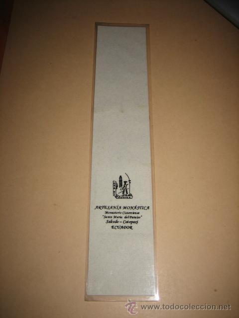 Coleccionismo Marcapáginas: EL SEÑOR TE BENDIGA Y TE PROTEGA ILUMINE SU ROSTRO SOBRE TI - Foto 2 - 9963515