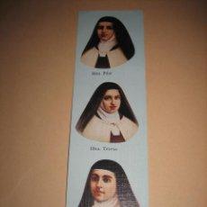 Coleccionismo Marcapáginas: MARCAPAGINAS ORACION CARMELITAS DESCALZAS. Lote 11657933