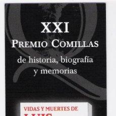 XXI PREMIO COMILLAS *TUSQUETS EDITORES*