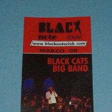 Coleccionismo Marcapáginas: MARCAPÁGINAS BLACK NOTE CLUB. Lote 15381549