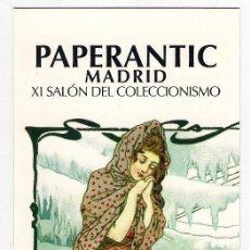 Coleccionismo Marcapáginas: PAPERANTIC 2009. Lote 25329814