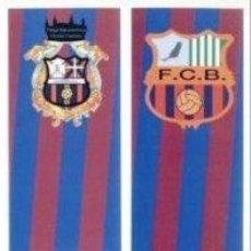 Coleccionismo Marcapáginas: 2 MARCAPÁGINAS. PEÑA EUSKOBARÇA. VITORIA.Y EURO BARÇA 92. FUERTEVENTURA. PEÑAS FC BARCELONA. NUEVOS.. Lote 22124297