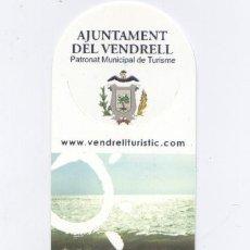 Coleccionismo Marcapáginas: MARCAPAGINAS *AJUNTAMENT DEL VENDRELL*. Lote 23690790