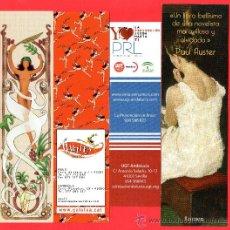 Coleccionismo Marcapáginas: DIEZ MARCAPÁGINAS DE VARIAS EDICIONES VER FOTOS ADICIONALES . Lote 24328109