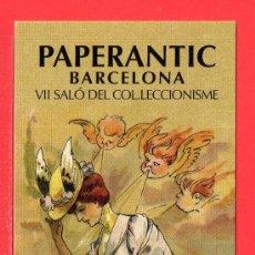 Coleccionismo Marcapáginas: UN MARCAPÁGINA PAPERANTIC VII SALÓ DEL COLECCIONISME DE BARCELONA. Lote 25315259