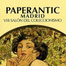 Coleccionismo Marcapáginas: MARCAPAGINAS -PAPERANTIC 2008 - MADRID . Lote 30138539