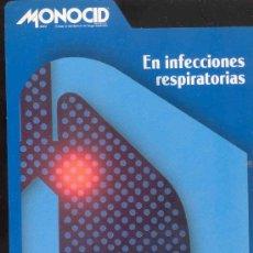 Coleccionismo Marcapáginas: MARCAPAGINAS PUBLICIDAD, MONOCID . Lote 29196837