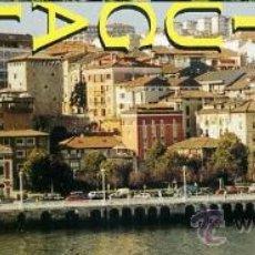 marcapaginas - portugalete / bizkaia / pais vasco - ferrocarril tren puente arquitectura religion