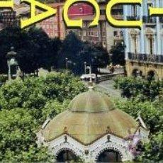 marcapaginas - portugalete / bizkaia / pais vasco - ferrocarril tren - KIOSCO MUSICA